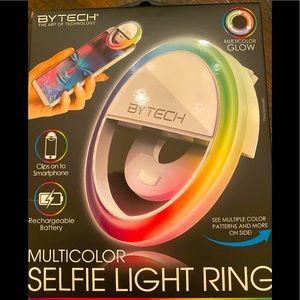 ByTech Multicolor Selfie Light Ring for phone